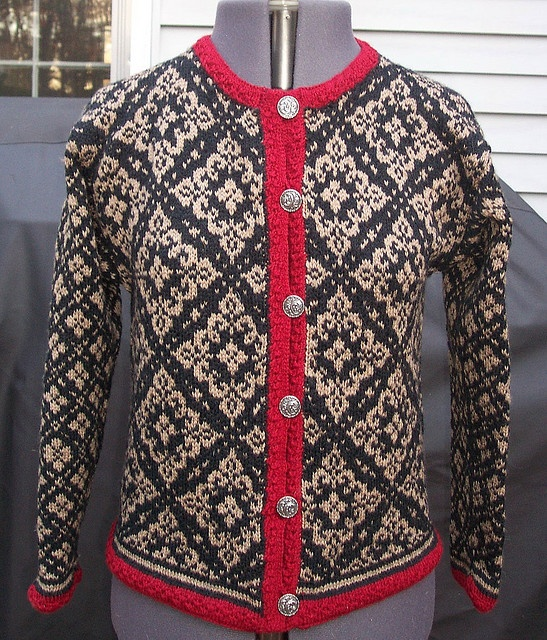 Norwegian sweater - have two that my father brought back from Norway with him in '49 and I need to find away to display them
