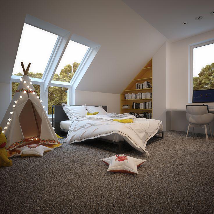 Children room POLAND - archi group. Pokój dziecięcy w Orzeszu.