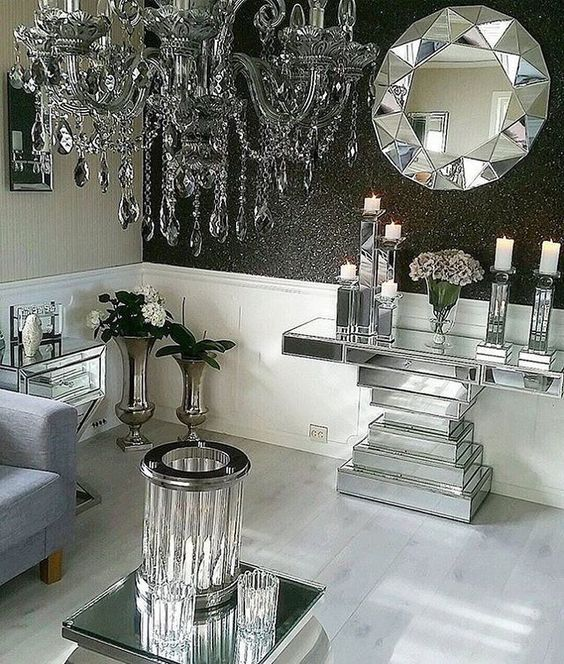 1318 best glamour and bling home decor images on pinterest