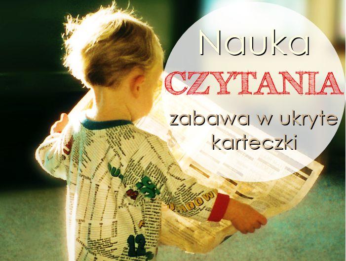 Nauka czytania dla dzieci. Zabawa w ukryte karteczki - przeczytaj więcej tutaj: http://www.godmother.pl/blog/ukryte-slowa-nauka-czytania/
