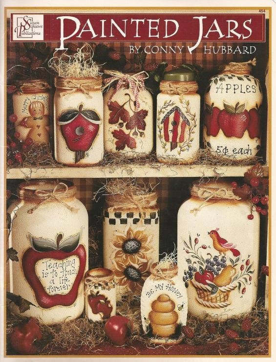 Painted Jars Decorative Tole Painting Craft Book (SOLD 8/2013)