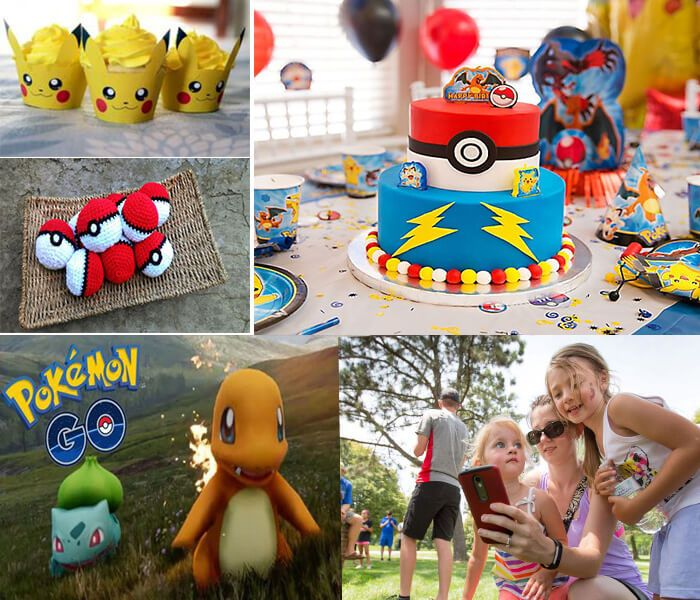 "Pokemon theme party: ""Pokemon"" is the talk of the town nowadays, so arrange a birthday party in Pokemon theme. #birthdaypartytheme"