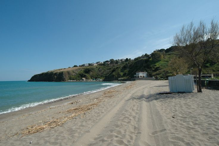 Agnone Bagni beach, just south of Catania