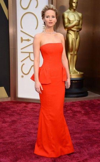 Jennifer Lawrence veste Dior