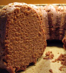 Granny's Chocolate Pound Cake