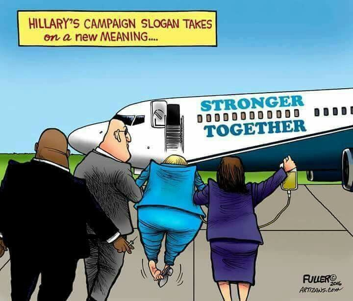 She agrees to turn over her Email server? She really must be sick.
