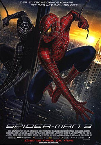 Spider-Man 3 - Authentic Original 23.5 x 33 Movie Poster @ niftywarehouse.com #NiftyWarehouse #Spiderman #Marvel #ComicBooks #TheAvengers #Avengers #Comics