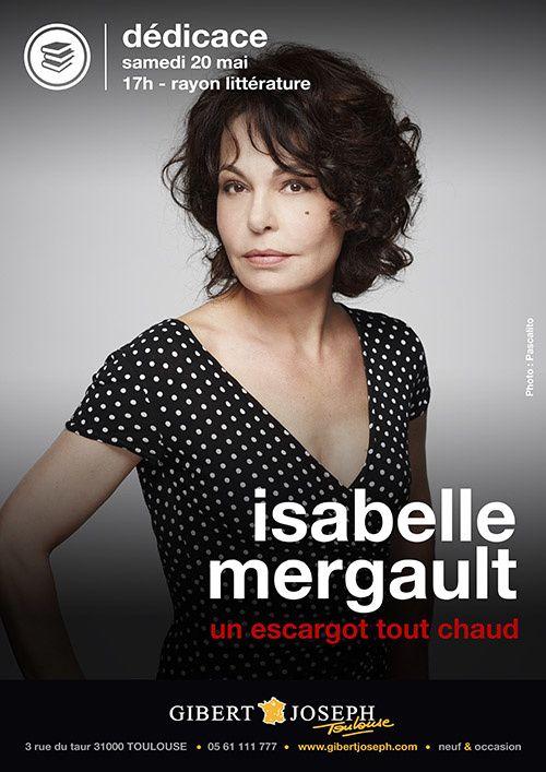 Isabelle Mergault en signature à la librairie Gibert Joseph Toulouse samedi 20 mai