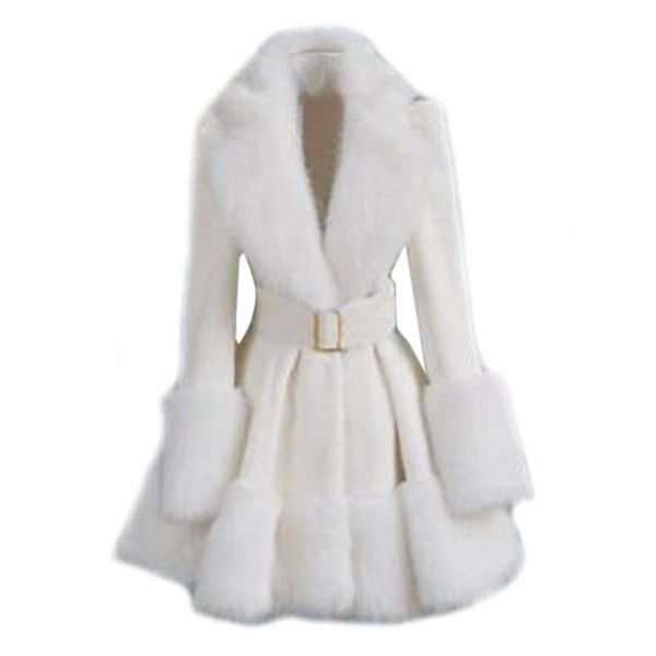 30 best White Fur Coats images on Pinterest