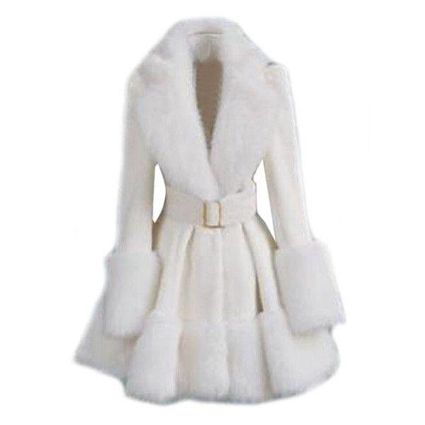 37 best White Fur Coats images on Pinterest  Fur coats