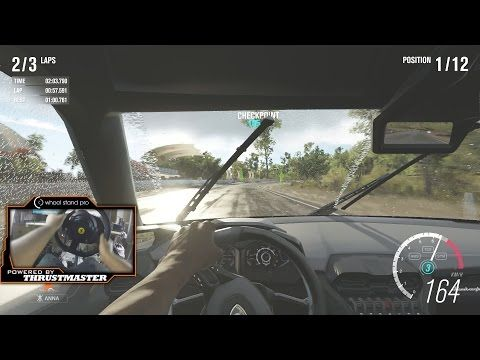 Forza Horizon 3 lets play Xbox One with Thrustmaster TX WheelCam - YouTube