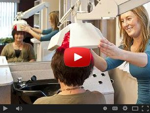 Laser Hair Therapy Treatment. San Jose CA