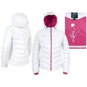 Down Jacket - Trespass Womens Amzie Down Jacket  - White - Ski Wear