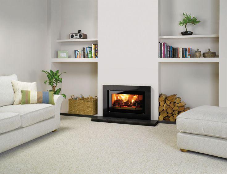 Riva Studio Sorrento Wood Burning Inset Fires - Stovax Fires