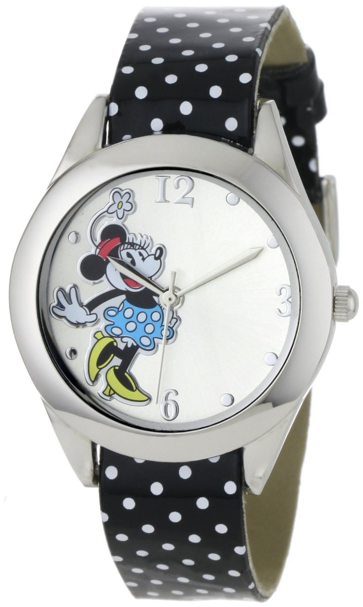 Disney Women's MN1039 Minnie Mouse Dial Interchangeable Strap Set Watch, (watches, disney, women mickey mouse watch, bling, casual watch, disney watches and jewelry, mickey mouse watch, minnie mouse watch, pink, womens minnie)