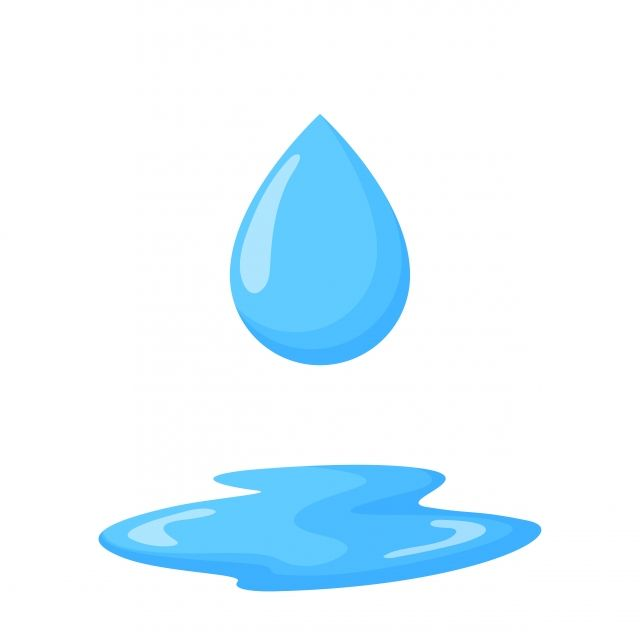 Vector Of Water Droplets Falling Down To The Ground Water Saving Concept Water Clipart Abstract Aqua Png And Vector With Transparent Background For Free Down Water Droplets Save Water Clip Art