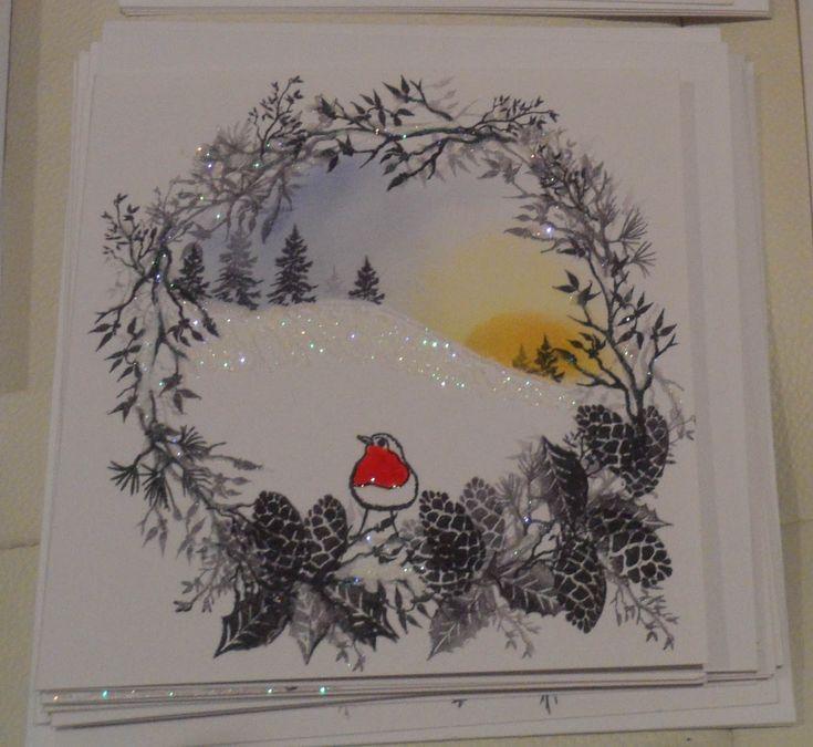 card-io christmas garden - Google Search