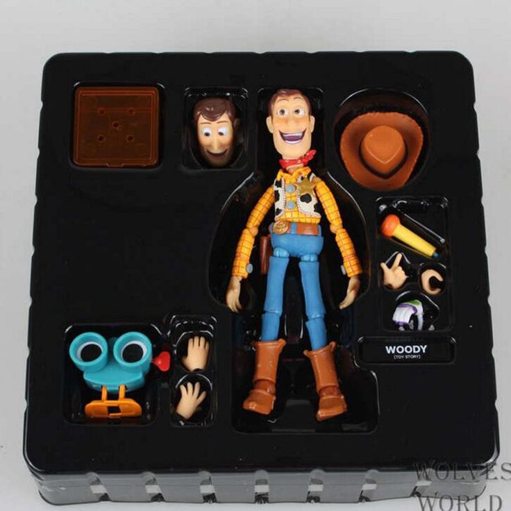 29.50$  Buy now - http://ali5kn.shopchina.info/1/go.php?t=32764865434 - newest Toy Story Woody Series NO. 010 Sci-Fi Revoltech Special PVC children cartoon doll Action Figure Collectible Toy T5837  #buymethat