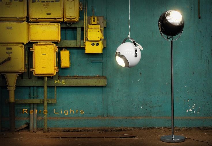 Leitmotiv Bebop lampen/ lamps, retro lights
