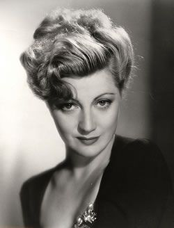 "Stella Adler, known for her acting school.  She only made 3 movies but was wonderful in ""Shadow of The Thin Man"""