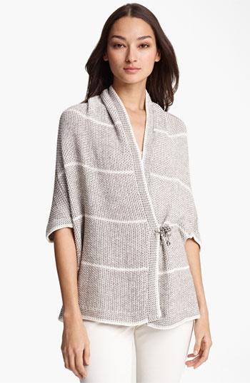 Fabiana Filippi Stripe Crochet Cardigan available at #Nordstrom