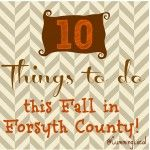 10 Things to Do this Fall in Cumming GA & Forsyth County