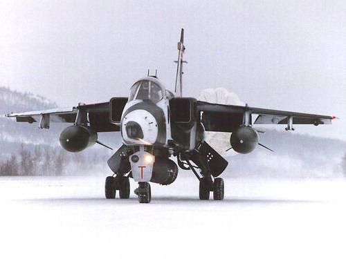 Jaguar GR.1A RAF, Norway