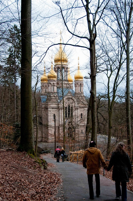 Russian Orthodox church, Wiesbaden, Germany