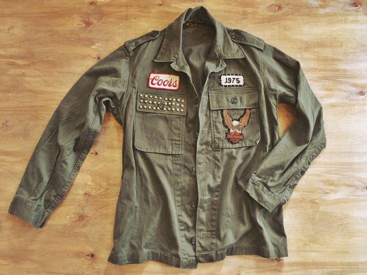 Iron Maiden Fan Jacket/Army Jacket/Military/Mens jacket/Women's military Jacket/Iron Maiden/English Heay metal band/Army shirt/Duster jacket