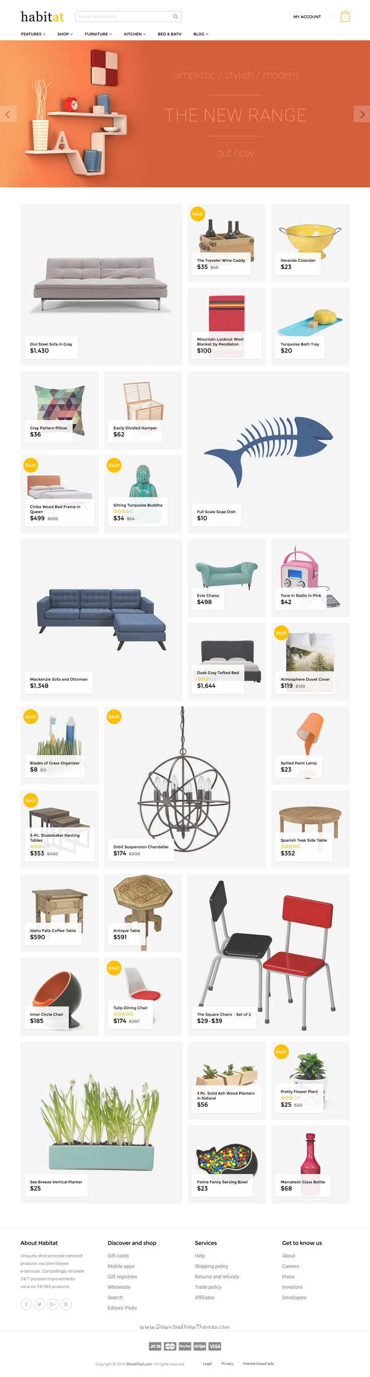 Habitat is a clean, modern WordPress #WooCommerce theme perfect choice for #selling furniture and home #décor products online in stunning eCommerce website download now➯ https://themeforest.net/item/habitat-multipurpose-woocommerce-theme/16262409?ref=Datasata