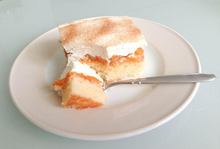 Mandarinen Schmand Kuchen: Erfrischender Blechkuchen, mit dem ihr in die