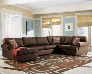 Brody Cafe Microfiber Chaise Sectional by Ashley Furniture Reviews
