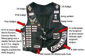 Resultado de imagem para outlaw biker vest