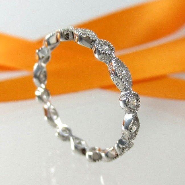 A760C Damen Band Stapelring Ehering 925 Sterling Silber Schmuck Zirkonia Gr. 60 | Uhren & Schmuck, Echtschmuck, Ringe | eBay!