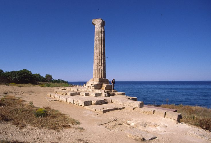 Area archeologica di Capo Colonna - Wikipedia