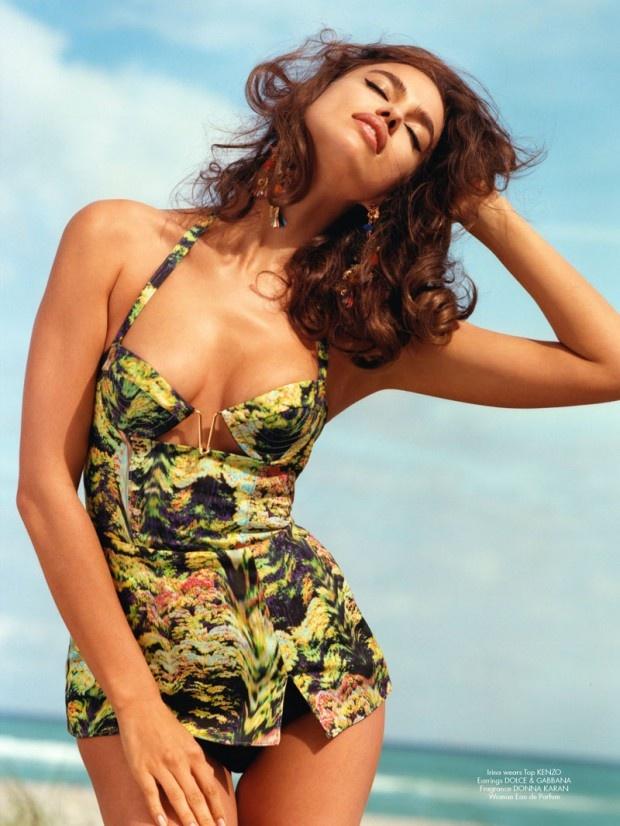 awesome CR Fashion Book | Editorial Moda Primavera 2013 | Alessandra Ambrósio, Irina Shayk e mais por Bruce Weber