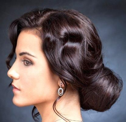 Tendril Twist - Different Types of Hair Buns [Slideshow]