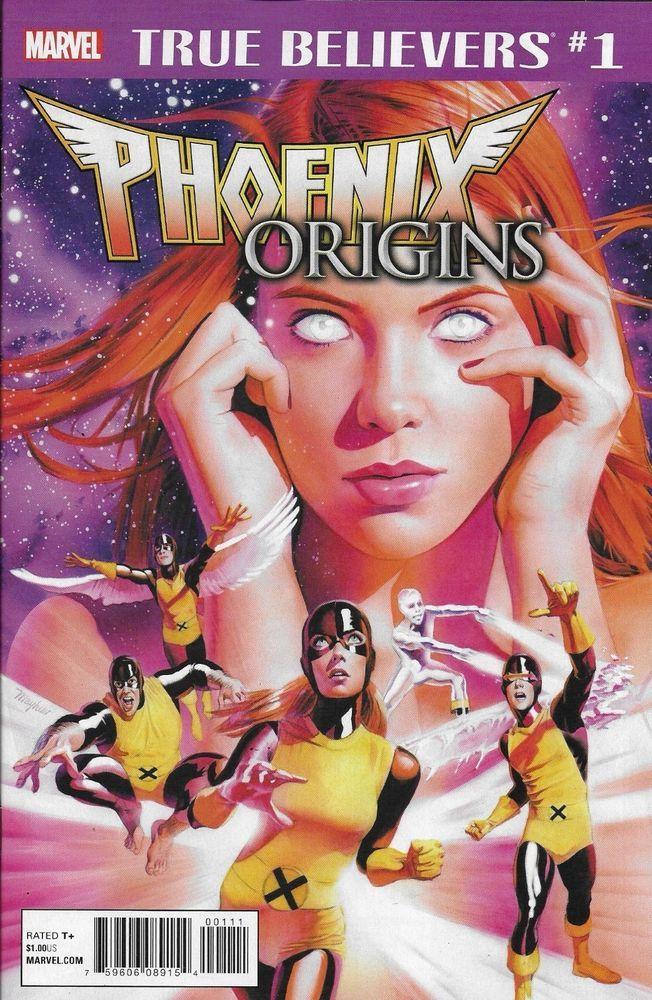 Marvel Phoenix Origins True Believers comic issue 1 Classic reprint