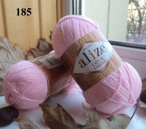 Yarn Alize Diva Stretch yarn rubber yarn elastic yarn swimsuit yarn bikini 2×100