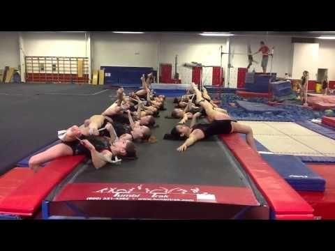 Flexibility using tumble track and tubing - YouTube