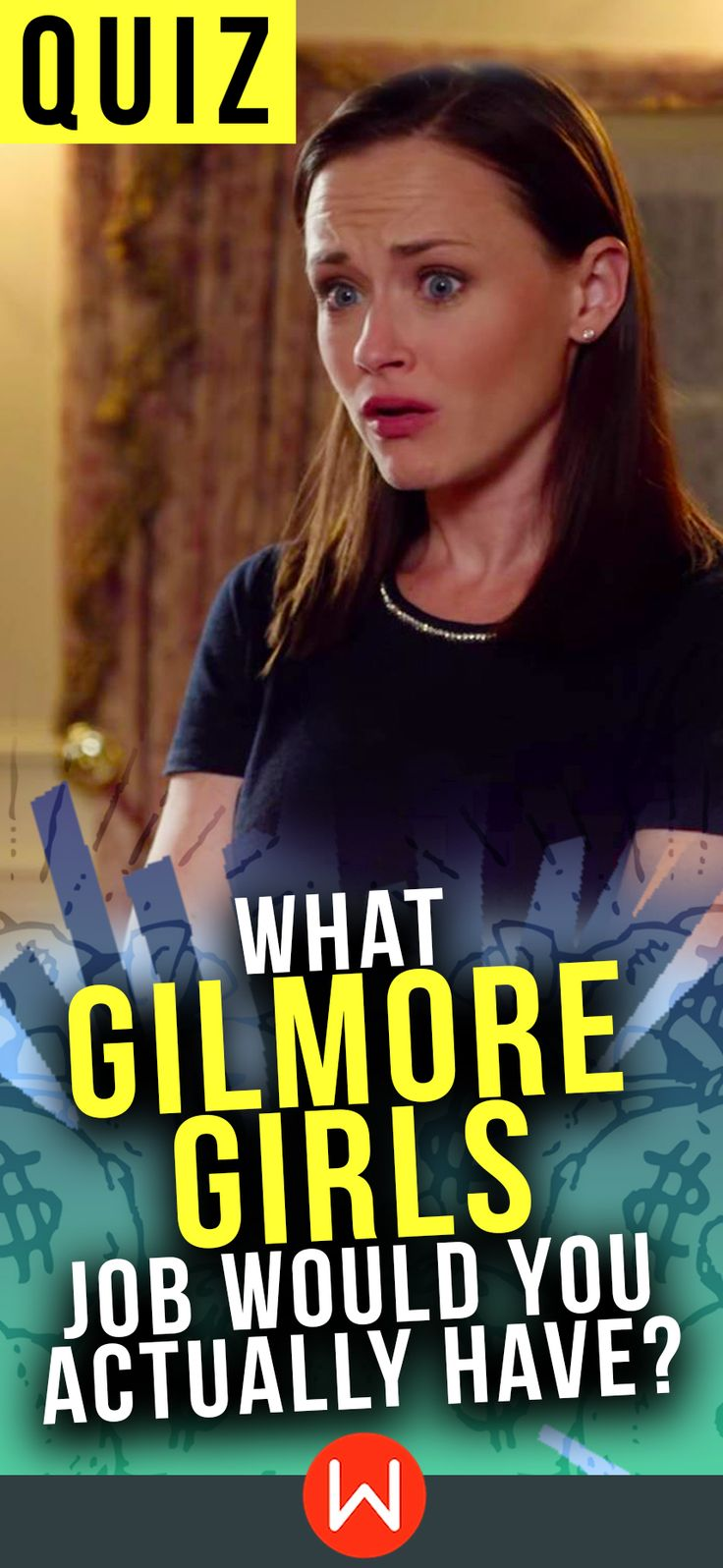 "Gilmore Girls quiz: What Gilmore Girl job would you have? buzzfeed quizzes, playbuzz quiz, girl quiz, personality test. ""Maybe we can form an all-girl band with Lane, you know, like Bananarama?"""