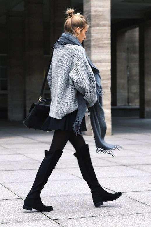 new style 54e44 2bfcf Abbinare gonna e stivali (Foto 36/40) | Shoes | Moda donna