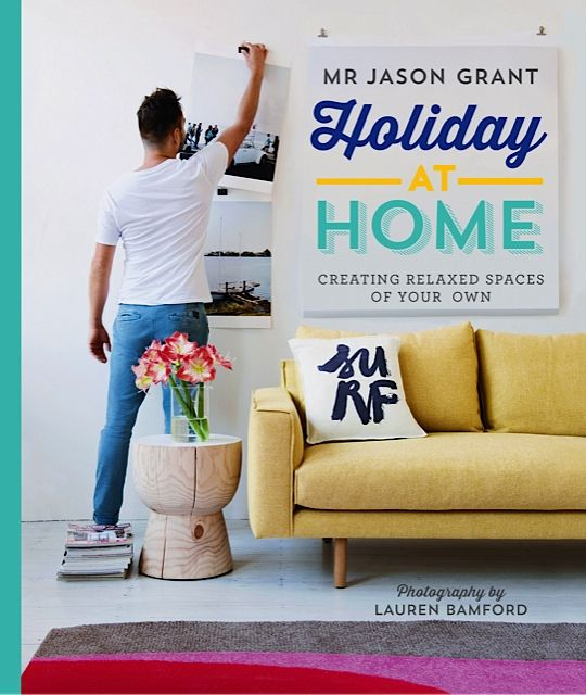 Video behind the scenes of Mr Jason Grant's second book, Holiday at Home