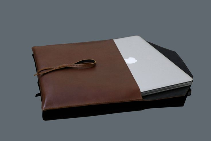 Minimalist laptop sleeve/MacBook sleeve/leather sleeve MacBook/MacBook Air Pro sleeve/Handmade sleeve MacBook