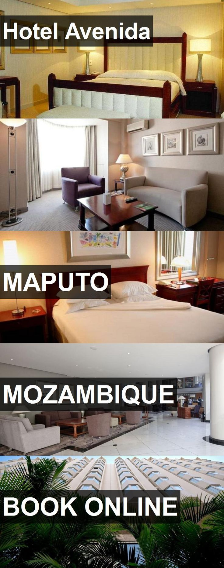 Hotel Avenida in Maputo, Mozambique. For more information, photos, reviews and best prices please follow the link. #Mozambique #Maputo #travel #vacation #hotel