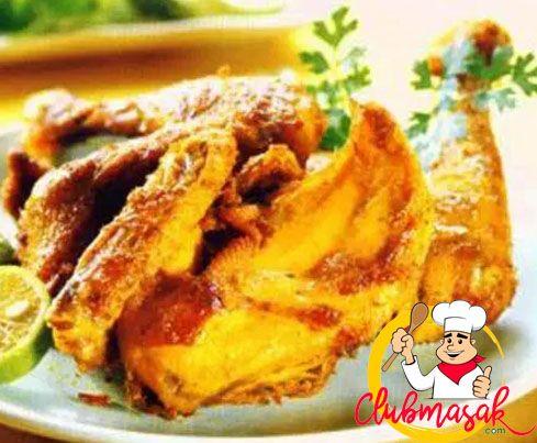 Resep Ayam Goreng Kuning, Ayam Goreng Berempah, Club Masak