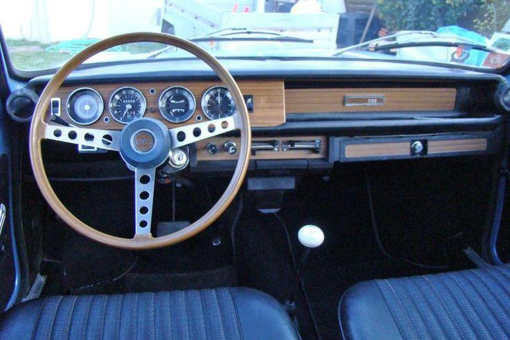 Simca 1100 GLS boite semi auto bleue Métal