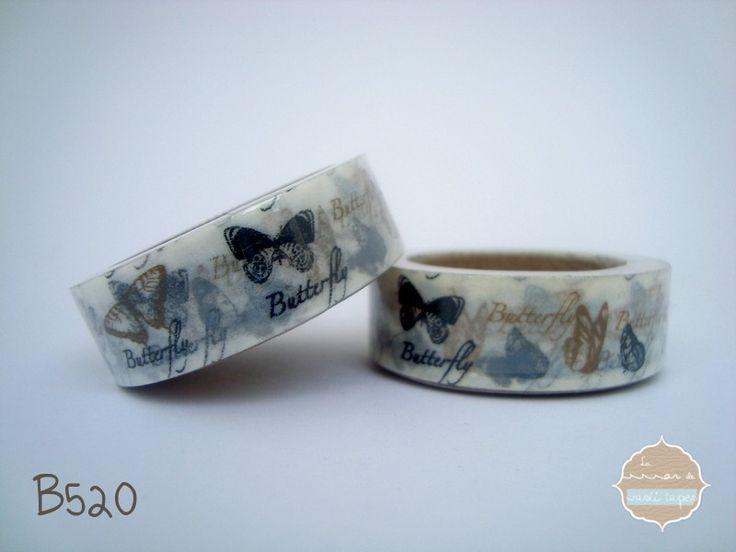 Washi Tape Mariposas