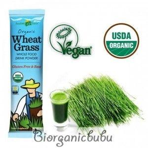 Amazing Grass Bautura din iarba de grau, 1 portie, 70% ingrediente organice, Raw Vegan, 8 g