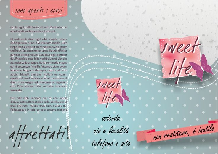 layout grafico per pasticcerie e cake design in vendita su virtuestampaonline.it